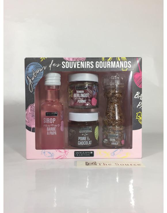 """Coffret """"Souvenirs gourmands"""""""