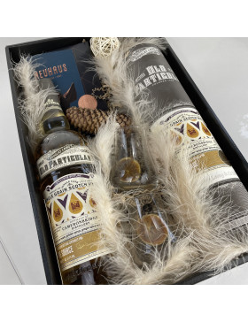 Coffret Whisky The Source + 2 verres + chocolat